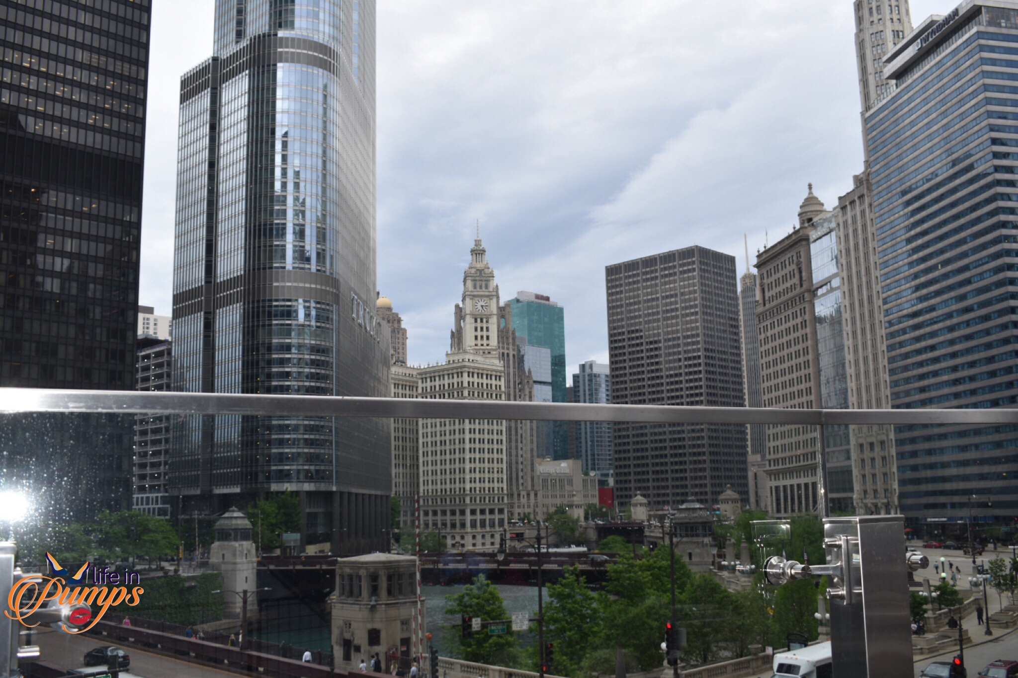 Raise Urban Bar view, #Choosechicago, renaissane hotel