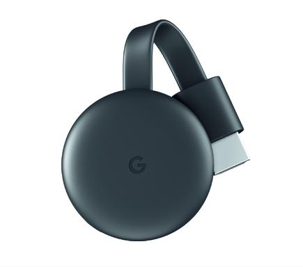 google chromecast streaming media player. avoid cable fees