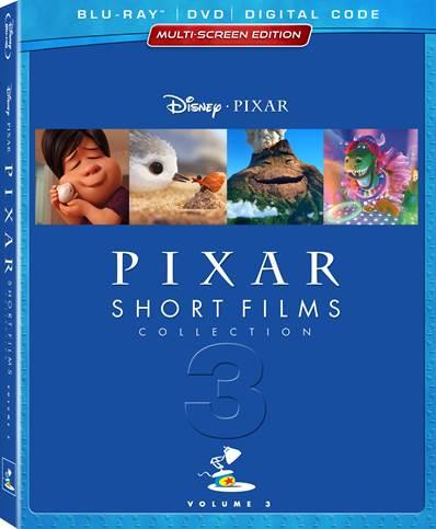 Disney Pixar Short DVD