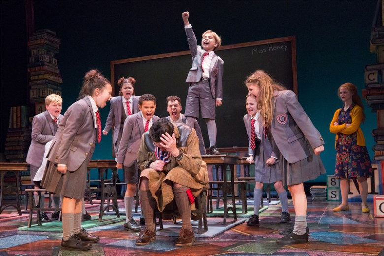 matilda the musical, walnut street theatre philadelphia