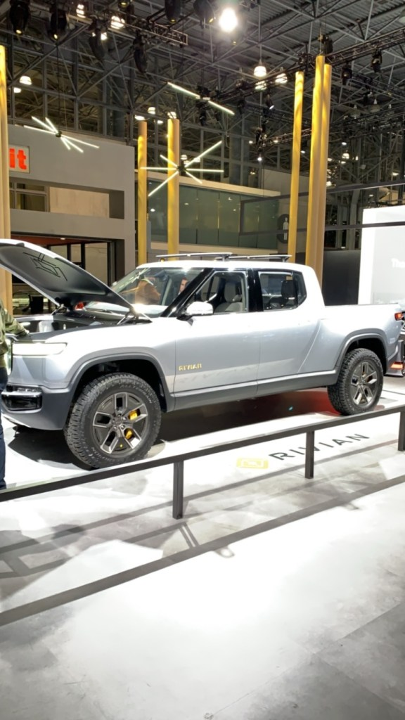 Rivian Electric Pick Up Truck