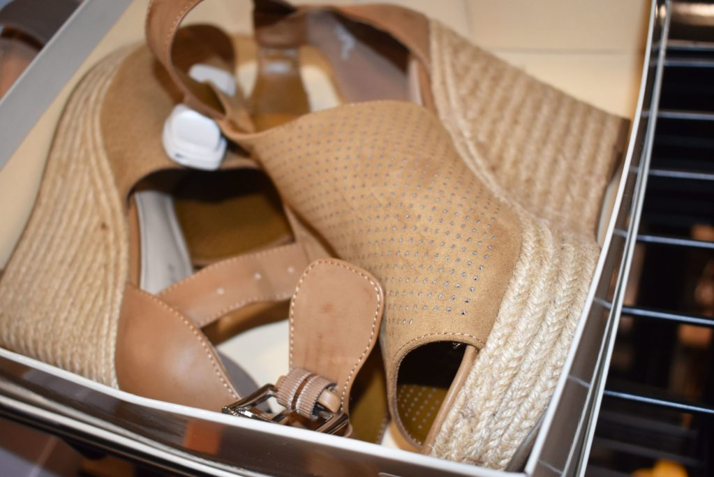 marc fisher taupe espadrille wedge Macys backstage sale