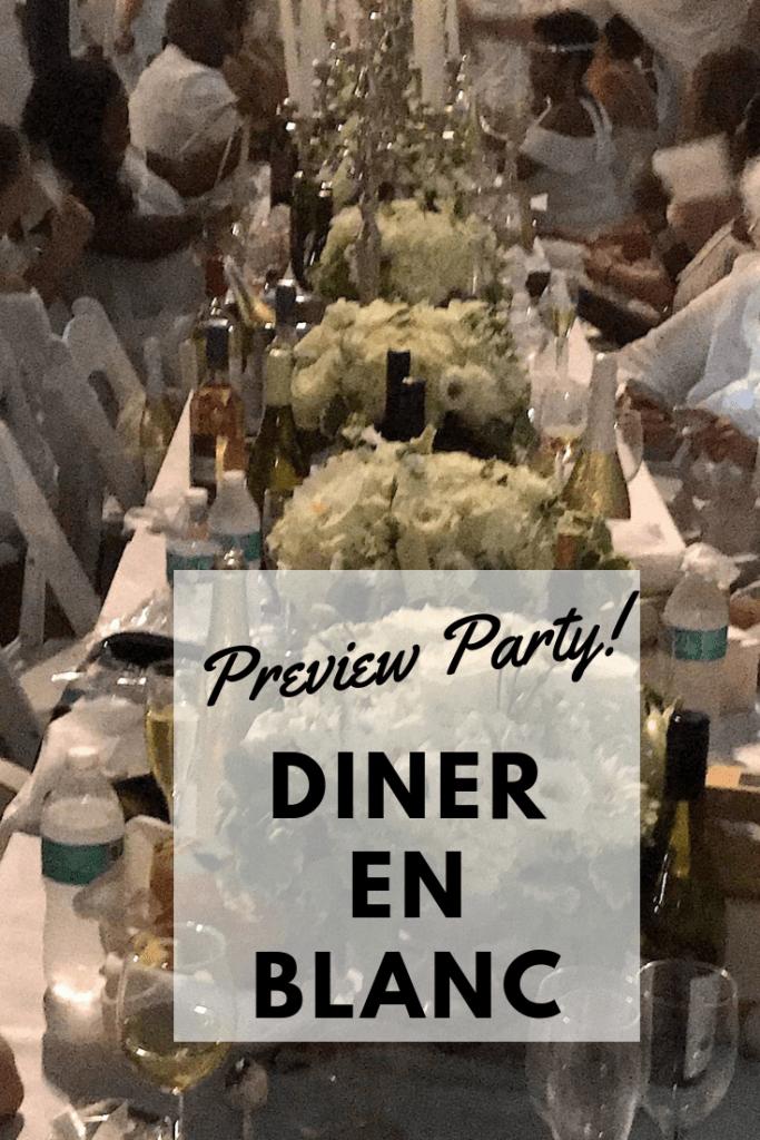 Diner en Blanc Philadelphia preview party details