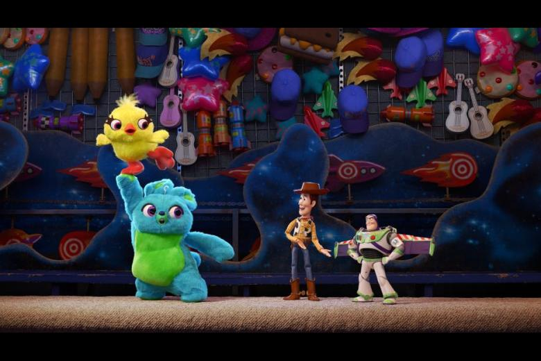 Toy Story 4 funny stuffed carnival prize animals