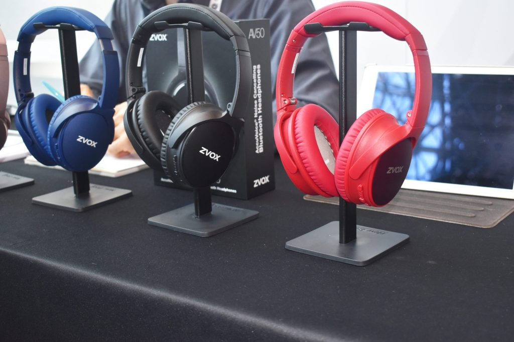 ZVox Earphones CEWeek NYC