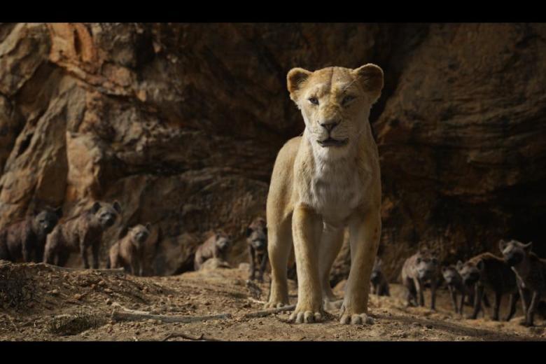 Lion King Movie Sarabi Courage