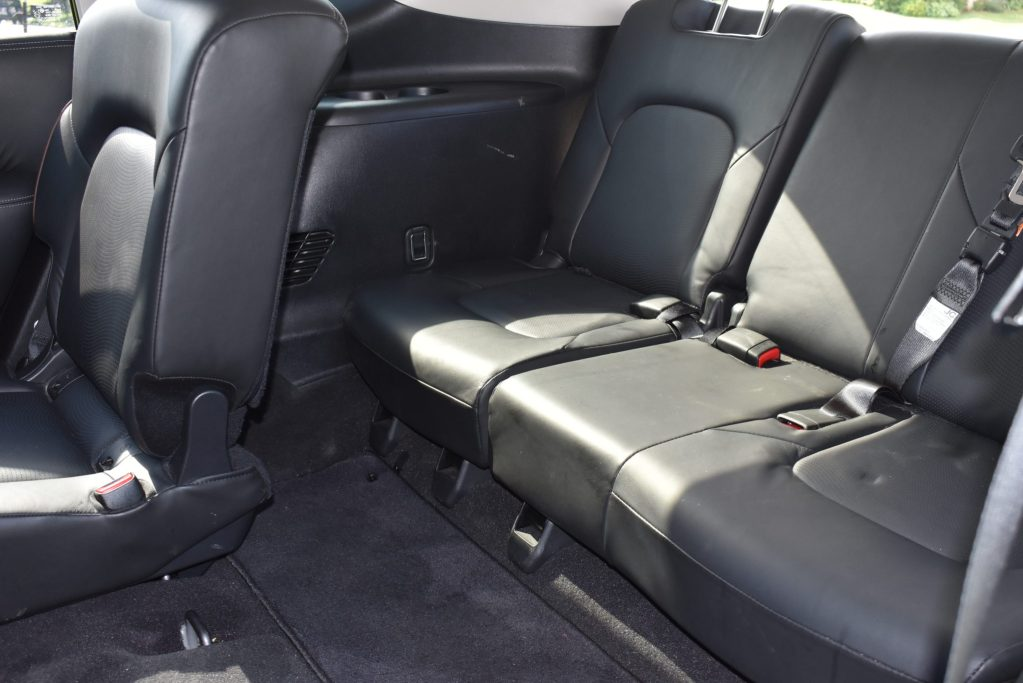 Nissan Armada offers third row seating
