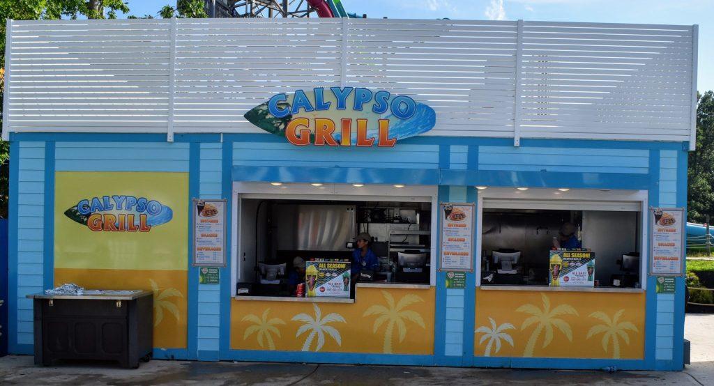 Calypso Grill Hurricane Harbor Six Flags