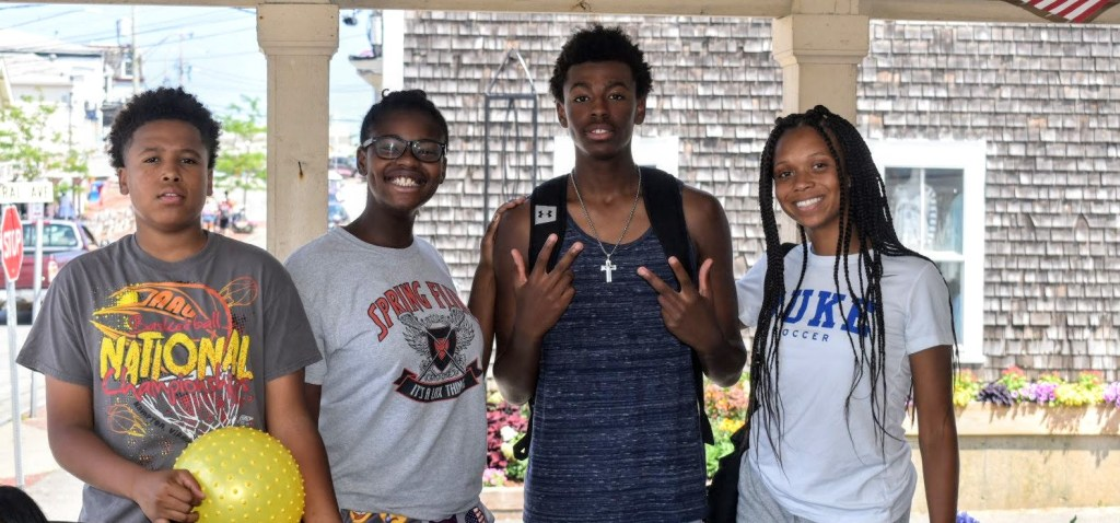 African American Kids at Marthas Vineyard