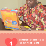 Simple Steps to Heart healthy with honey nut cheerios