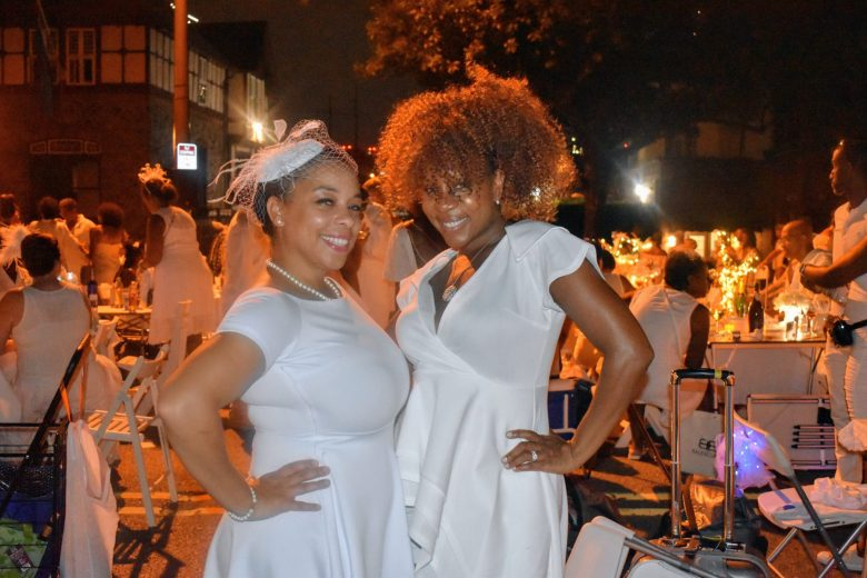 Brown Girls at Diner en Blanc Philly