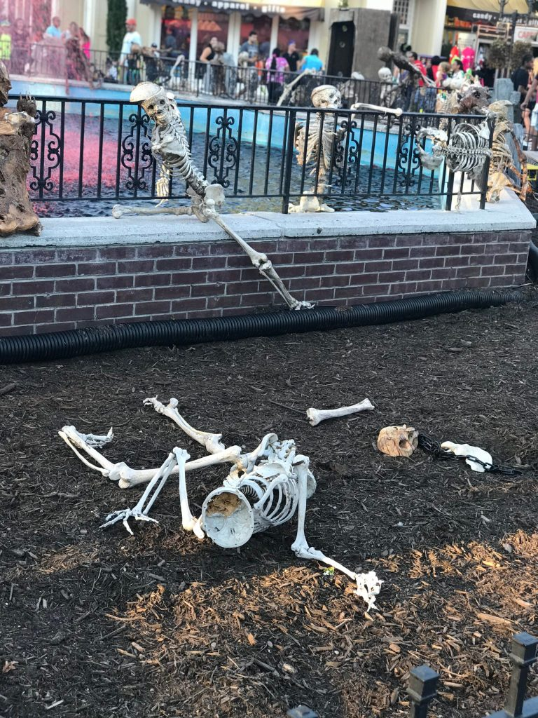 Scary Bones at Six Flags Fright Fest