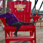 Six Flags Great Adventure Holiday in the Park Big Chair