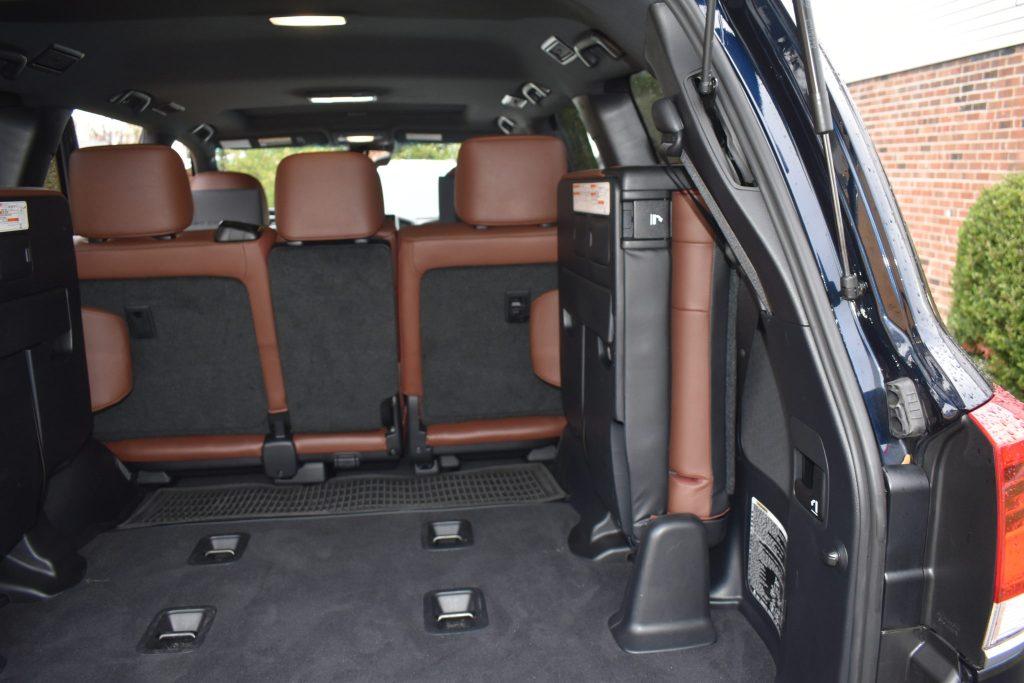 Third Row Toyota Land Cruiser
