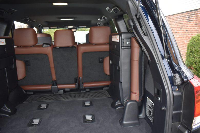 Third Row Toyota Land Cruiser, Family road trip, best SUV for family road trip, Toyota land cruiser review