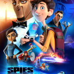 Spies in Disguise Movie Poster with Will Smith