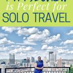 Pittsburgh Fairmount solo traveler
