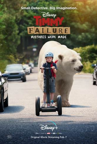 Grab Your Family and these FREE Passes to see TIMMY FAILURE: MISTAKES WERE MADE, a Disney+ Film 1