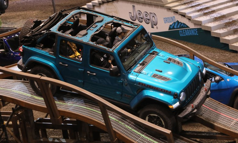 Camp Jeep Interactive at the Chicago Auto Show