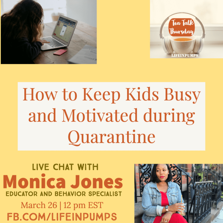 How to Keep Kids Busy and Motivated During Quarantine 1