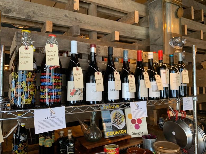 Barcelona wine bar menu east passyunk philly Retail area
