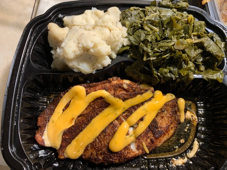 Toyota EnTOURage Experience Food Take Out 2020 Avalon Bookers restaurant Catfish