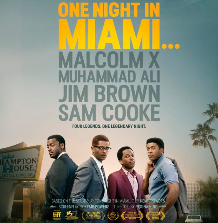 One Night in Miami Official Poster with credits