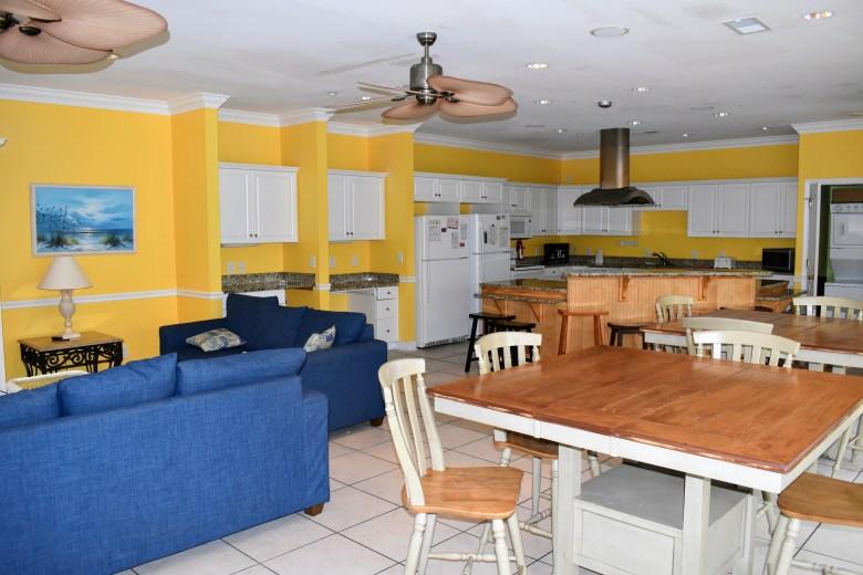 beach home rental layout