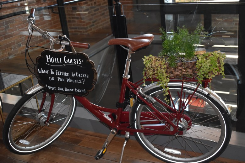 bike rentals that are available from various hotels while traveling