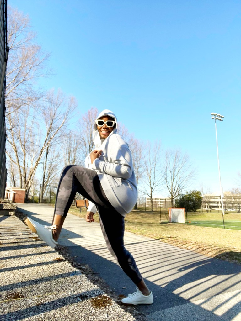 brown girl exercising for diabetes health