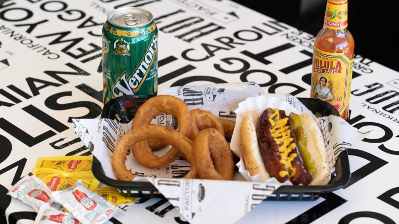 Original Hot Dog Factory Philadelphia must see and eat places for a one day visit family guide