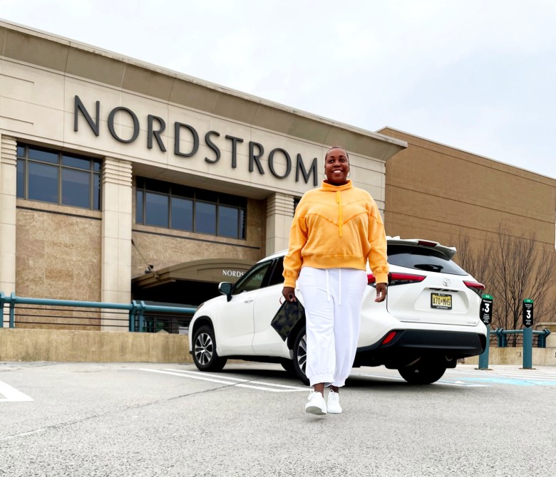 Brown Girl at Nordstrom Toyota Highlander Philly Fun Guide