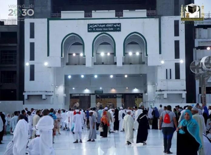 King Abdul Aziz (Gate 1) of Masjid al Haram