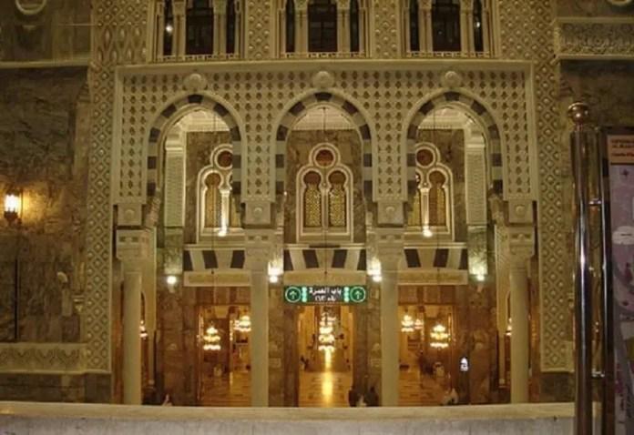 Bab al-Umrah (Gate 63) of Masjid al Haram