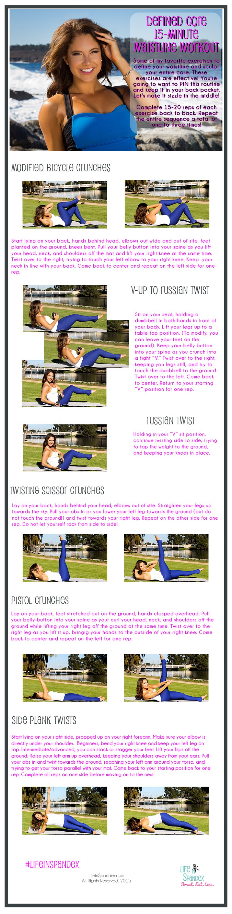 Defined Core 15 Minute Waistline Workout