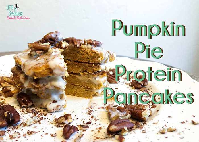 Pumpkin Pie Protein Pancakes Recipe