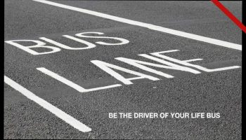 Be the Chief Driver of Your Life Bus