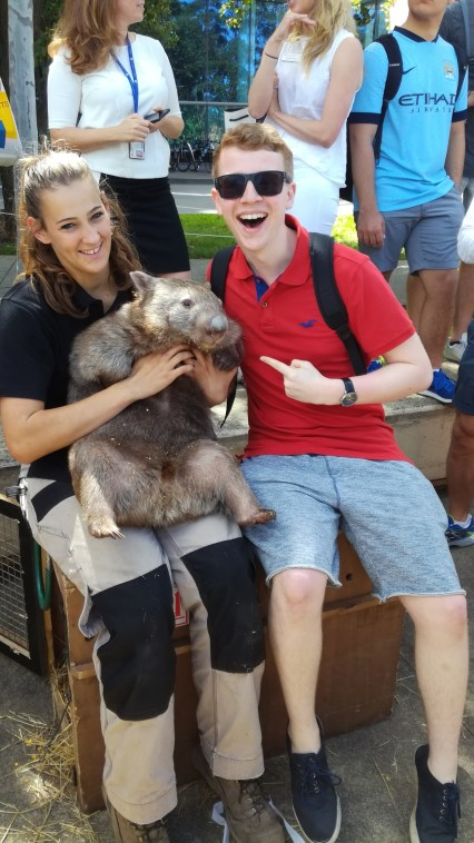 Me, A Wombat and a Zookeeper