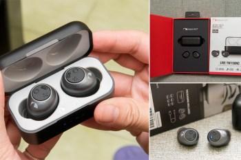 【3C商品】重量超輕的抗噪藍芽耳機|LIVE 真無線藍牙耳機|防水|降噪|快速充電|一年保固~~Nakamichi TW150NC