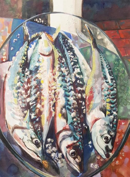 Mackerel.Watercolour.Flora.Menager.compressed-page-001