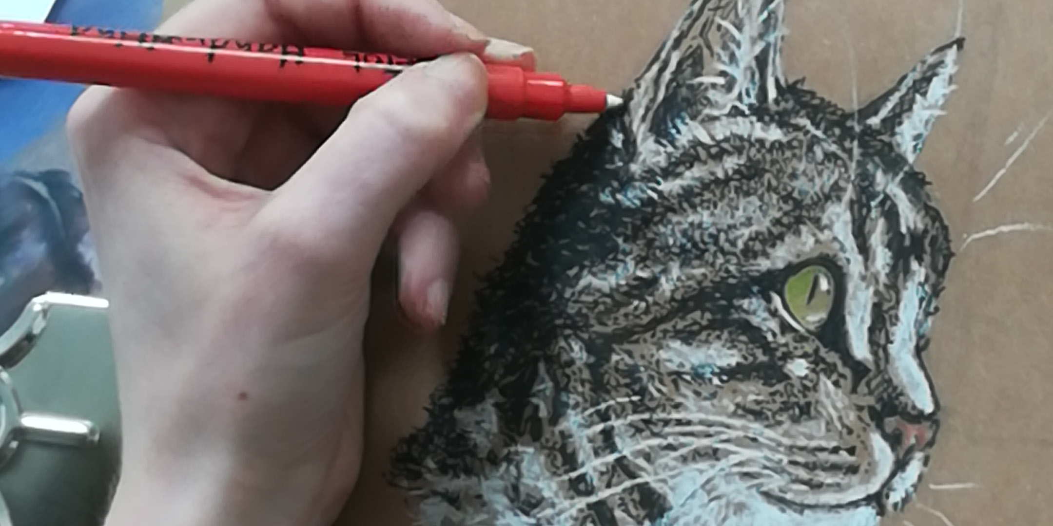 Pet Portraits - Drawing & Painting (2x sessions)