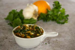 Moroccan preserved Lemon Sauce ingredients