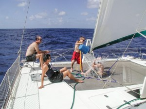 Fun in the middle of the Atlantic