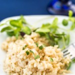 Easy Pressure Cooker Risotto