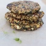 feta spinach quinoa patties