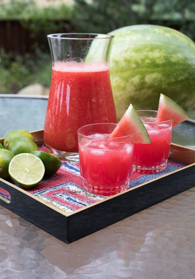 Sparkling Watermelon Limeade