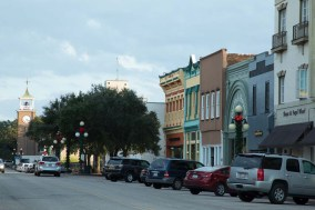 downtown Georgetown, SC
