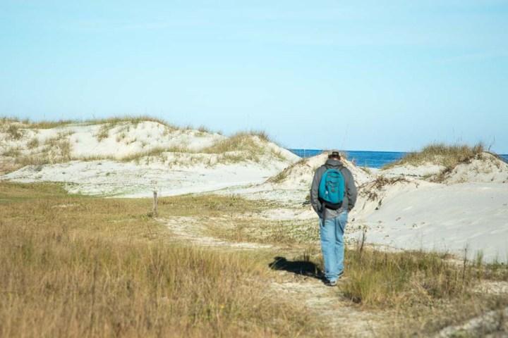 Cumberland-hike to beach