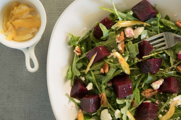 Beet and Arugula Salad