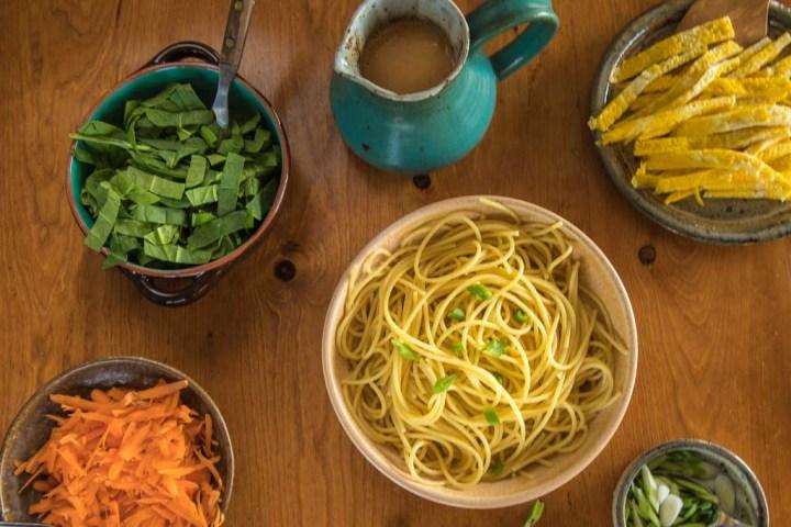 Long Life Noodle ingredients